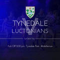 Sat 26th: Tynedale Vs Luctonians