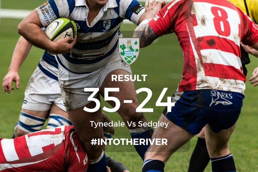 RESULT! Tyne 35-24 Sedgley