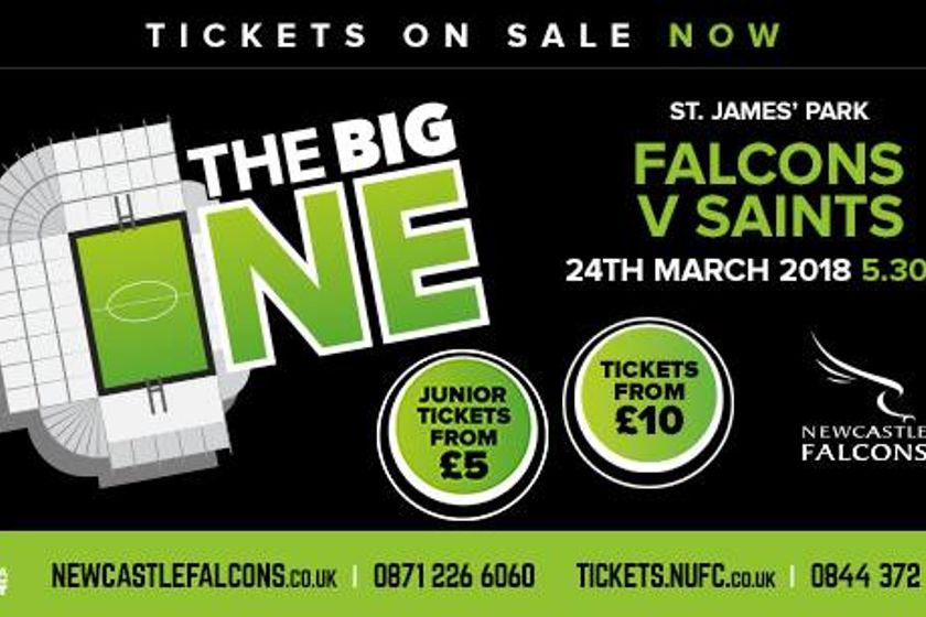 TICKETS FOR THE BIG ONE