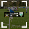 Match Report: Hinckley 29-26 Tynedale