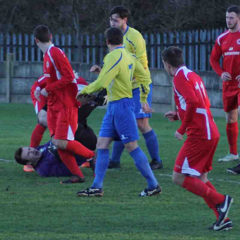 PARKGATE V GARFORTH 2/1/17
