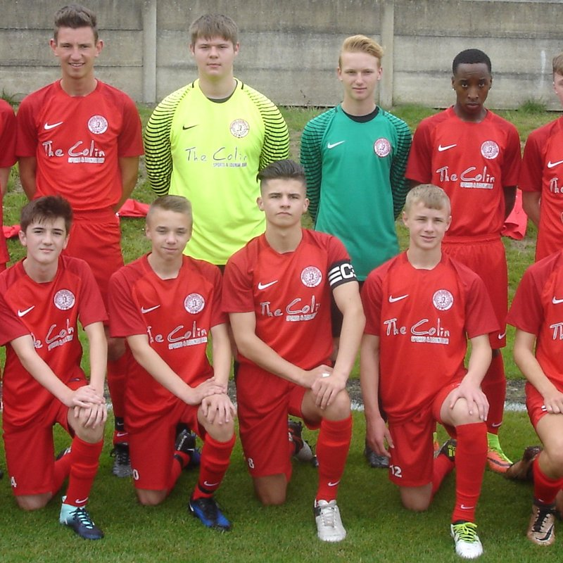 Parkgate Under 18's game @ Rawmarsh Leisure pitches this Sunday........