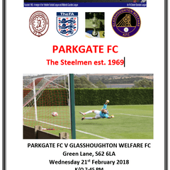 Feb 21st Glasshoughton league cup round
