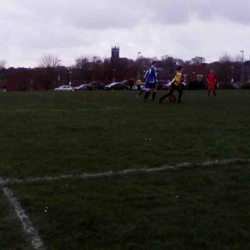 Under 18 vs Rotherham Town - 8 April 2018