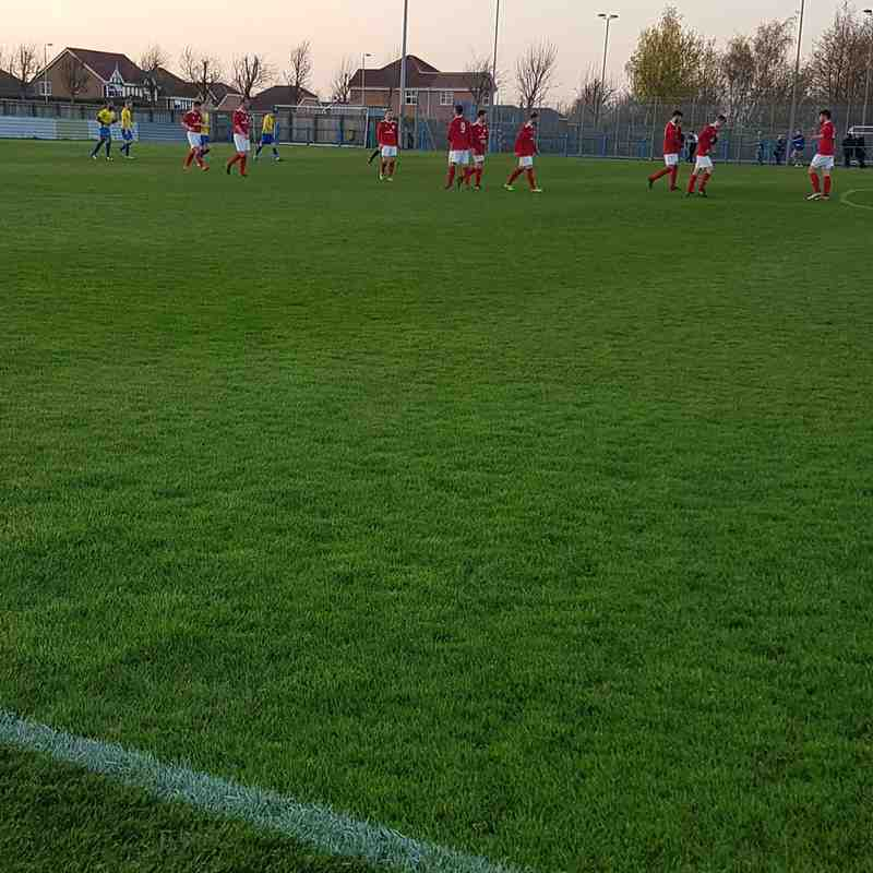 Parkgate v Garforth away 19-4-18
