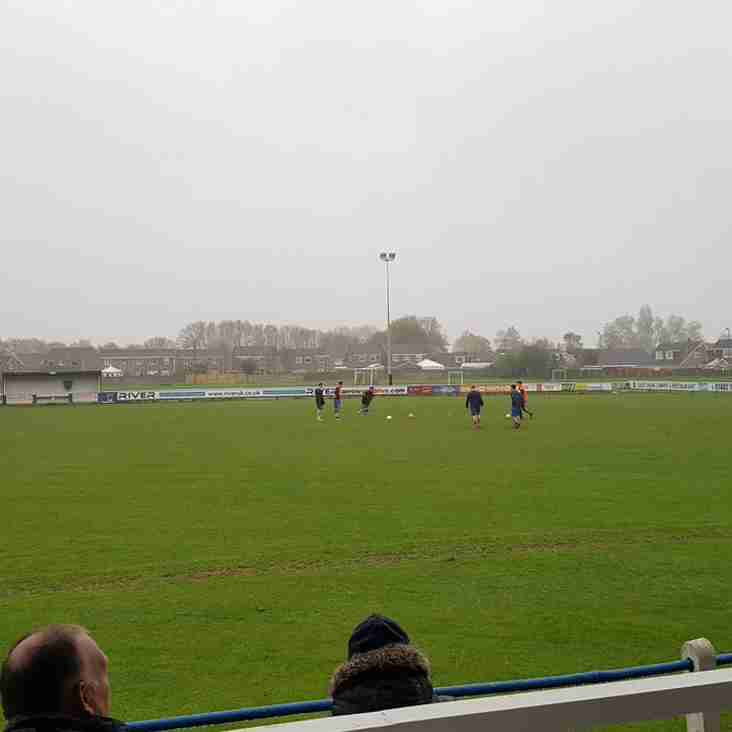 Parkgate away @ Hall Road rangers......