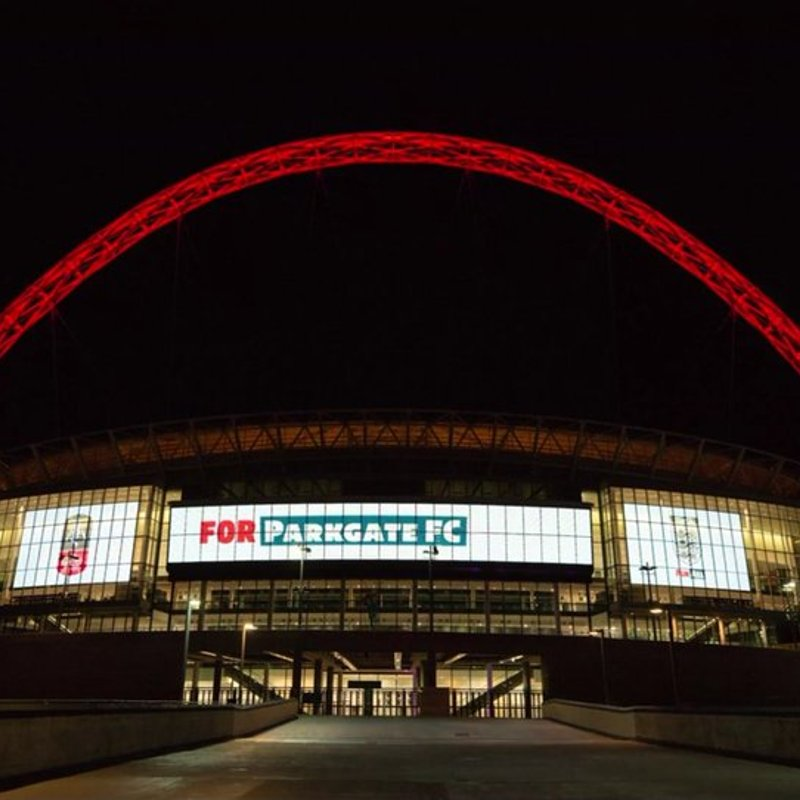 All 737 FA Cup clubs displayed at Wembley..........