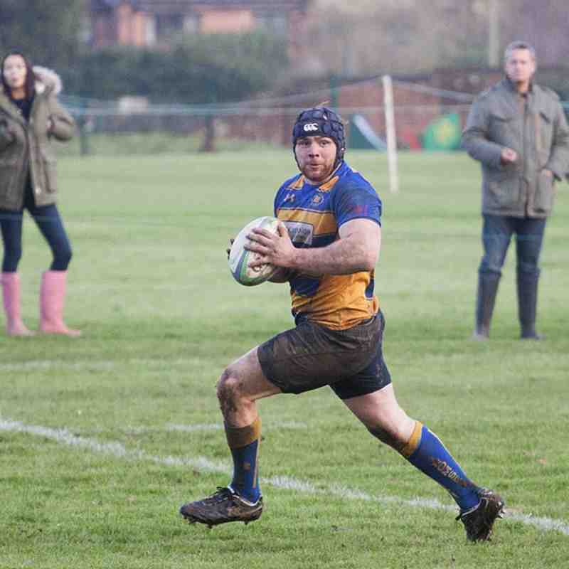 1st XV at home to Fawley 23rd Jan 2016.