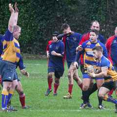 2nd XV at home to Fawley RFC.