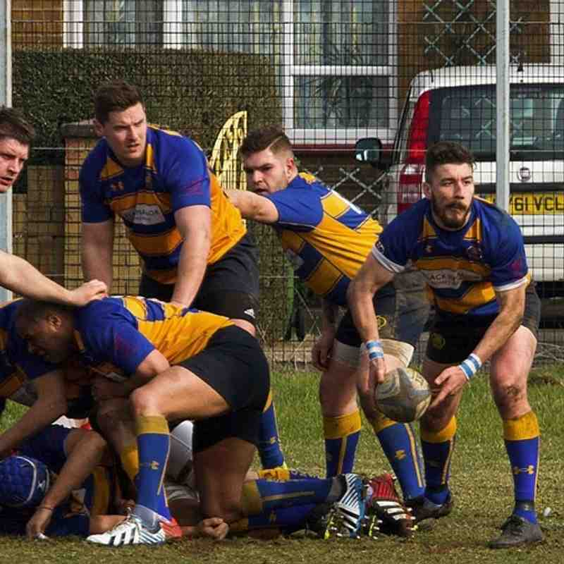 Ist XV at Southsea nomads 12 mar 2016.