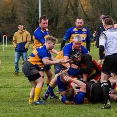 2nd 15 at Eastleigh RFC 19th Nov 2016.