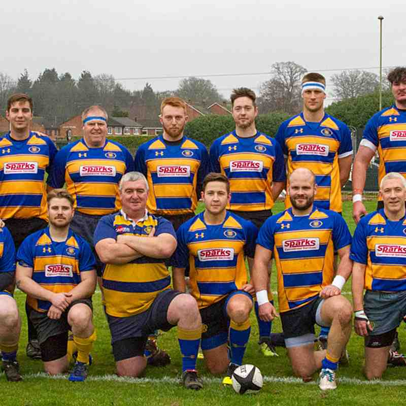 2nd 15 at home to Sandown & Shanklin RFC 7th Jan 2017.