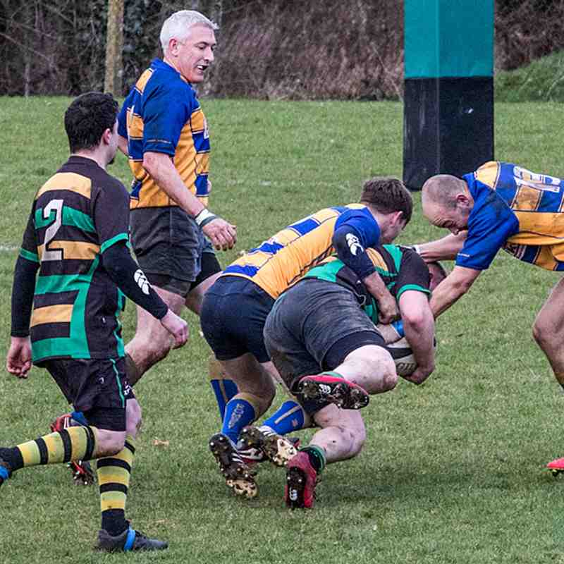 2nd XV V Alresford 4th Mar 2017.