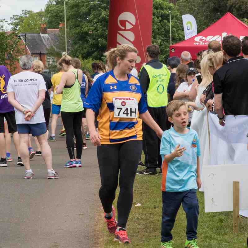 Romsey Charity Relay Marathon 14th May 2018.