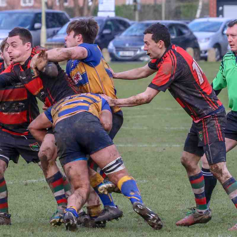 1st 15 at home to Alton RFC  17th Feb 2018.