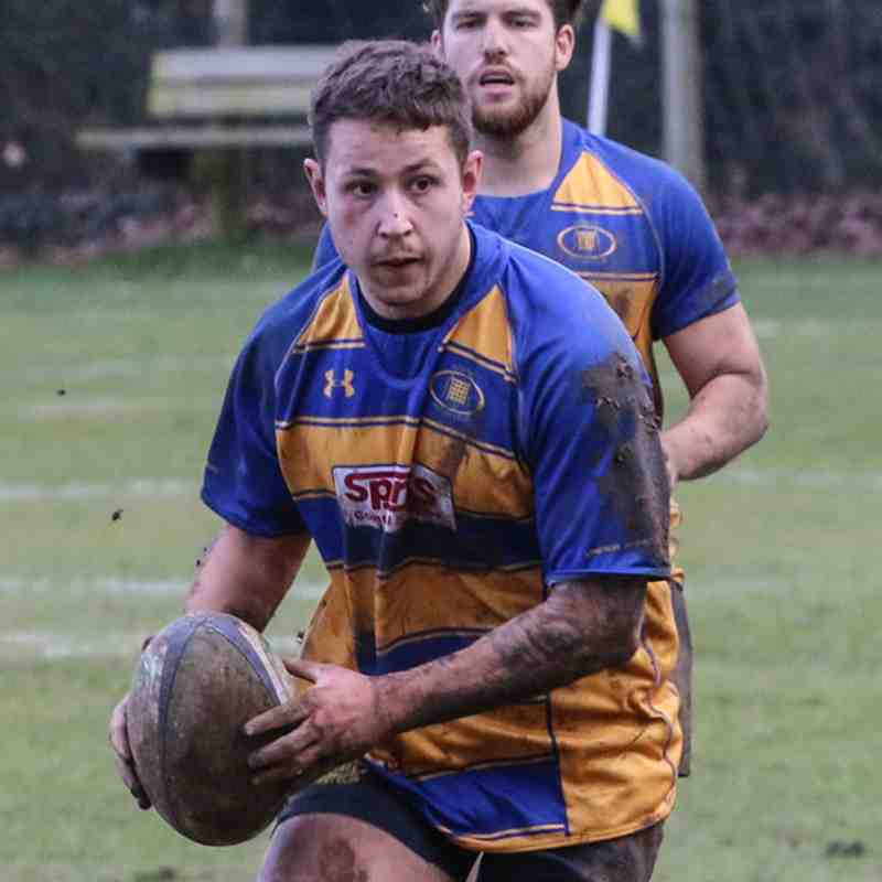 1st 15 at home to Farnborough RFC, 10th Mar 2018.