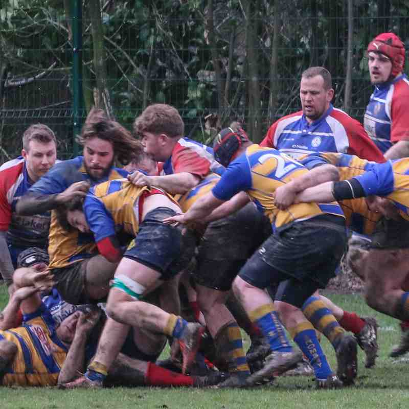 1st 15 at home to Aldershot & Fleet RFC, 17th Mar 2018.