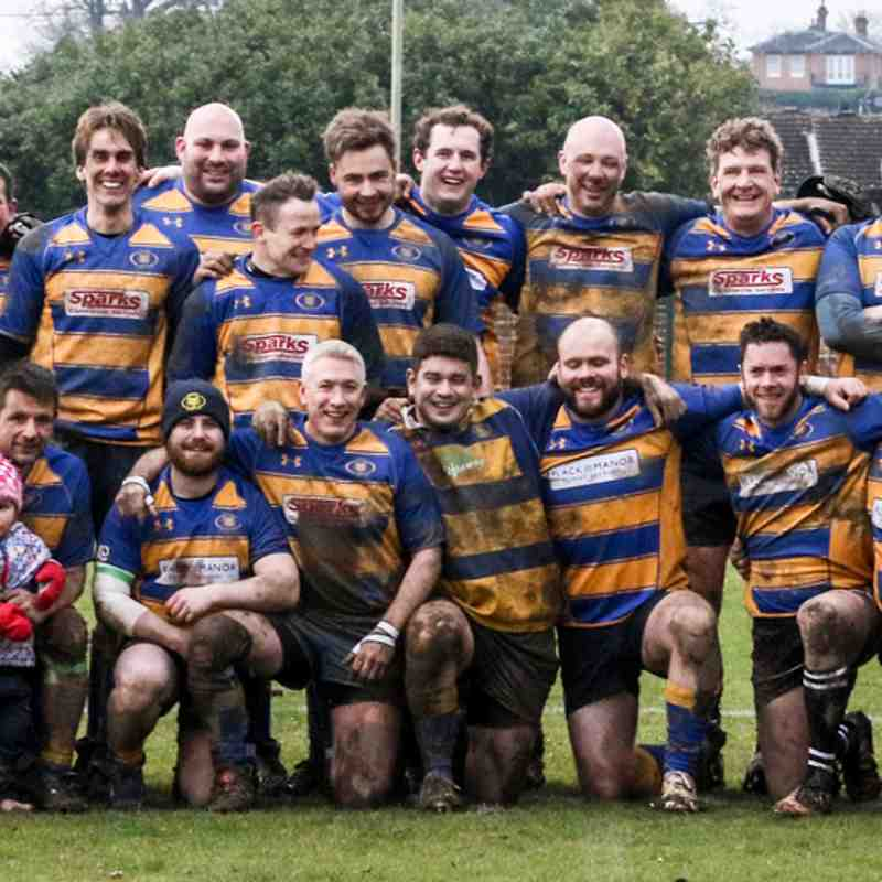 Romsey Young Vets  V Tottonians RFC, 17th Mar 2018.