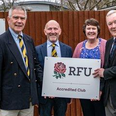 RFU presentation to the club, 16th Feb 2019.