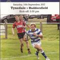 Programme Notes Tyne v Huddersfield
