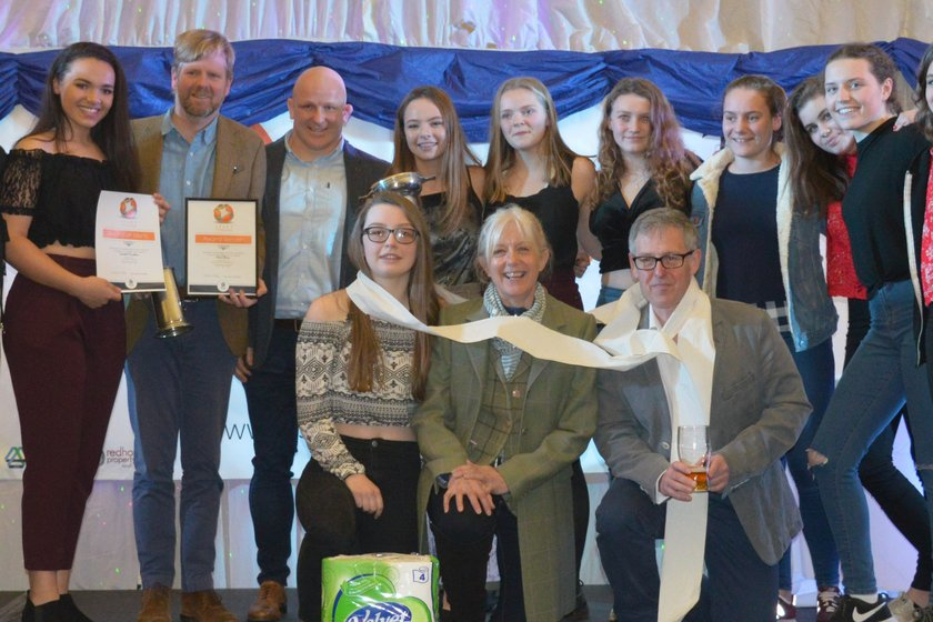 Tynedale RFC recognised at Sports Awards