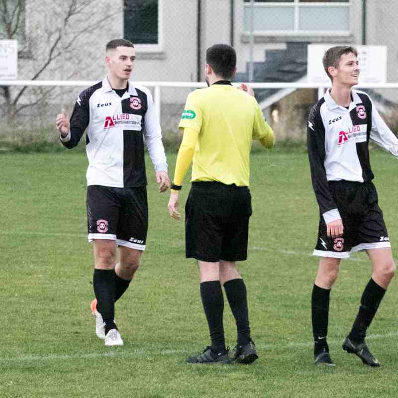09/11/19 v Stoneywood/Parkvale (League) Won 3-0