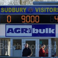 AFC Sudbury (0) Hendon FC (4)