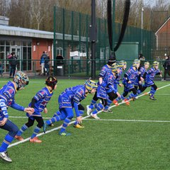 Cobras u9s Away to Leigh East Wolves
