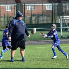 Under 9s Cobras Away to Leigh East Lions