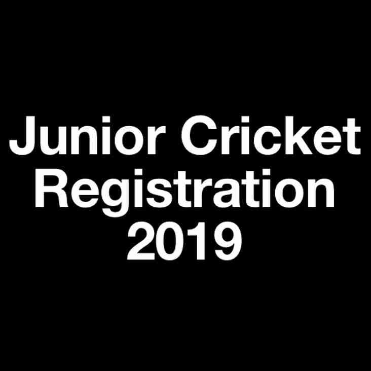 Hyde Junior Cricket Registration Night