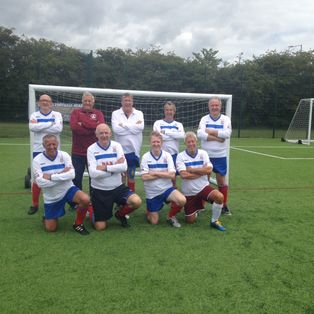 Walking Football v EWFL 60+ League Matches Whites