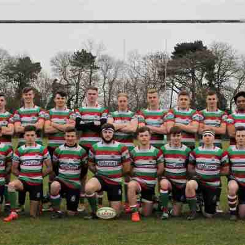 A game at Welford Road for Lutterworth Colts XV