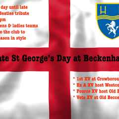 St Georges's Day 2016