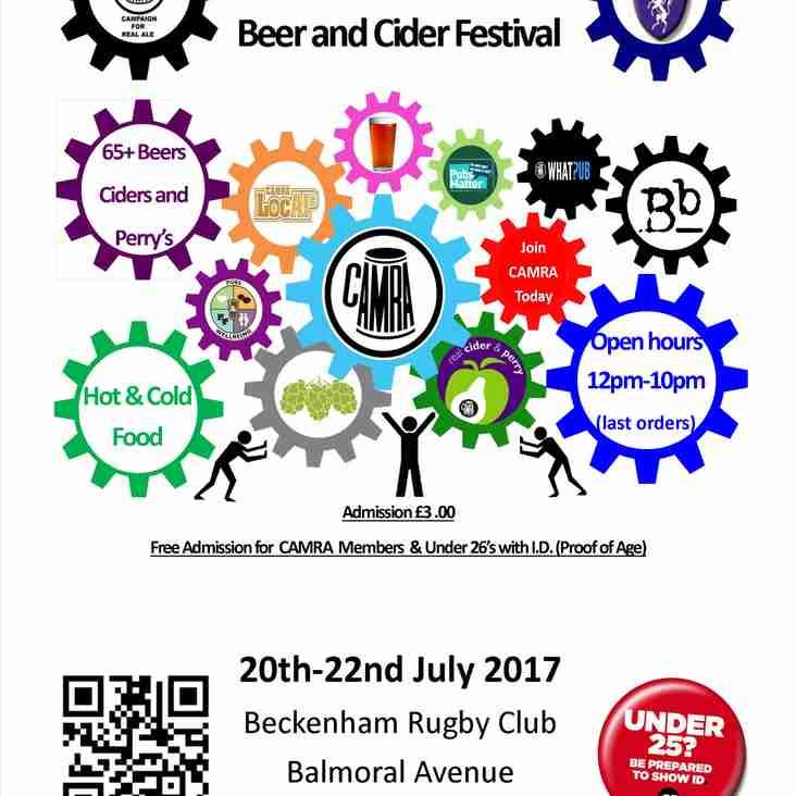 Fourth Beckenham Beer Festival