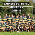 Old Coventrians - Sat vs. Barkers' Butts RFC