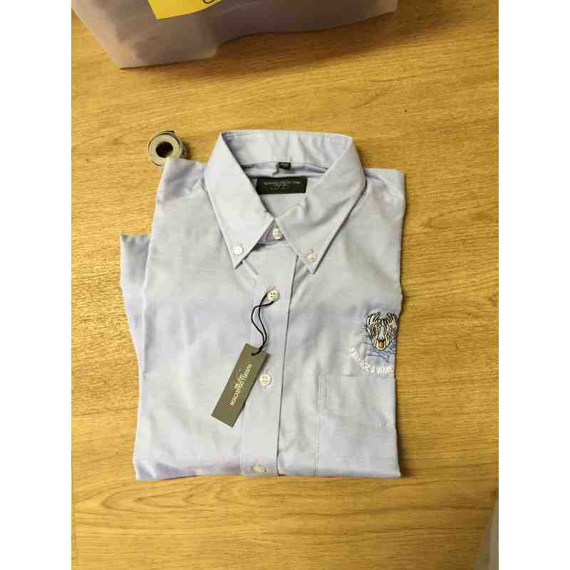 Swans Blue Dress shirt