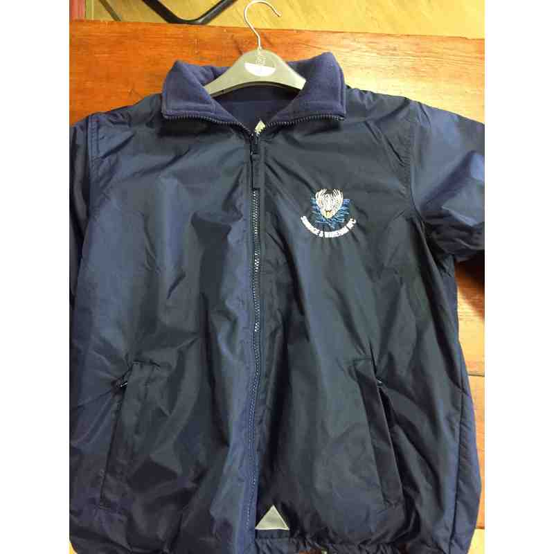Waterproof Coat - Navy