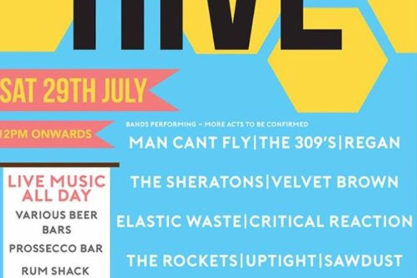 Live At The Hive - Sat 29 July