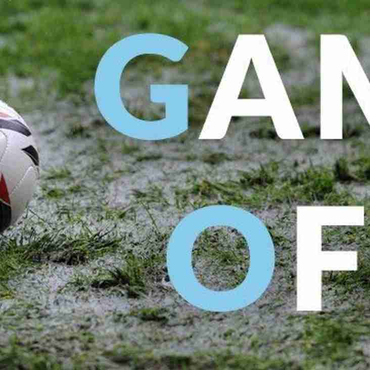 Tonight's Game Against Bristol Telephones has been Postponed