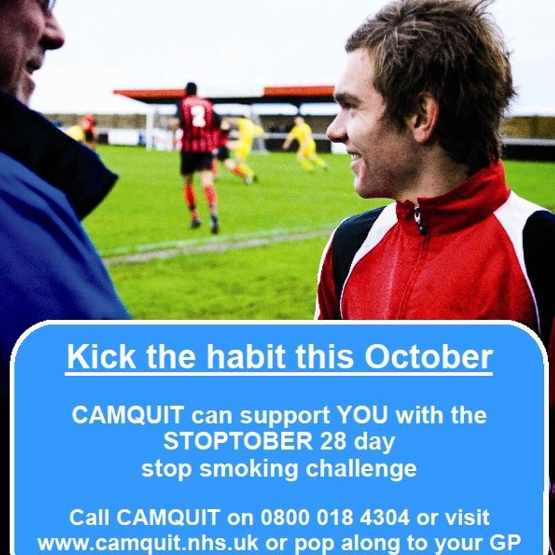 Kick the habit this October