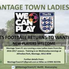 Women's football Returning