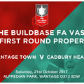 Wantage Town Football Club vs. Cadbury Heath