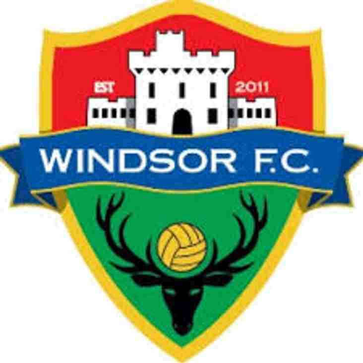 Today's Match at Windsor is OFF