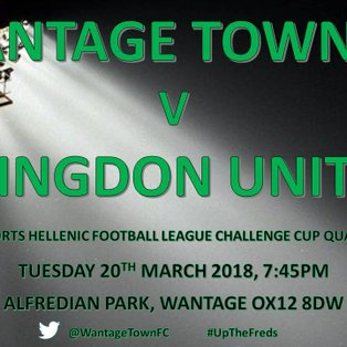 Wantage Bow Out To Local Rivals
