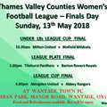 Thames Valley Counties Women's Football League Cup Finals