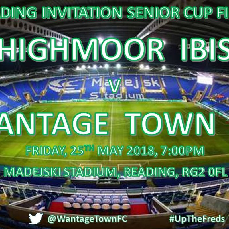 WANTAGE IN CUP FINAL