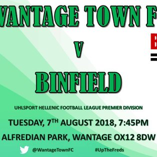 Two From Two As Wantage Beat Binfield