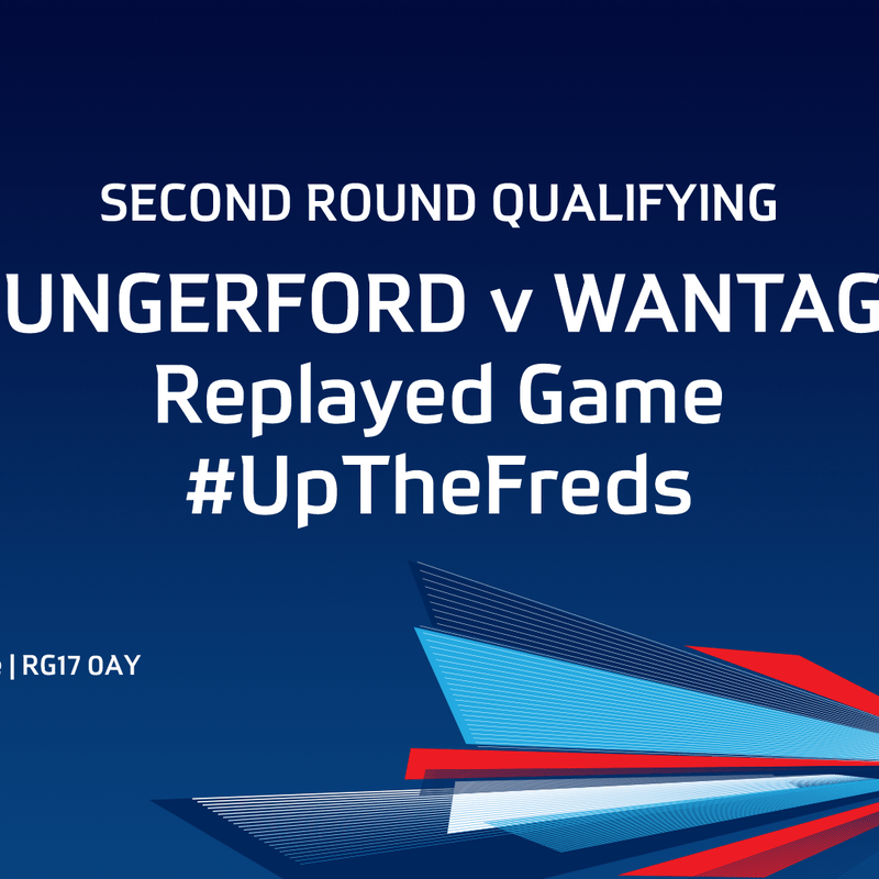Hungerford FA Cup Tie - Update