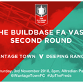 First Team (Men) lose to Deeping Rangers 1 - 2