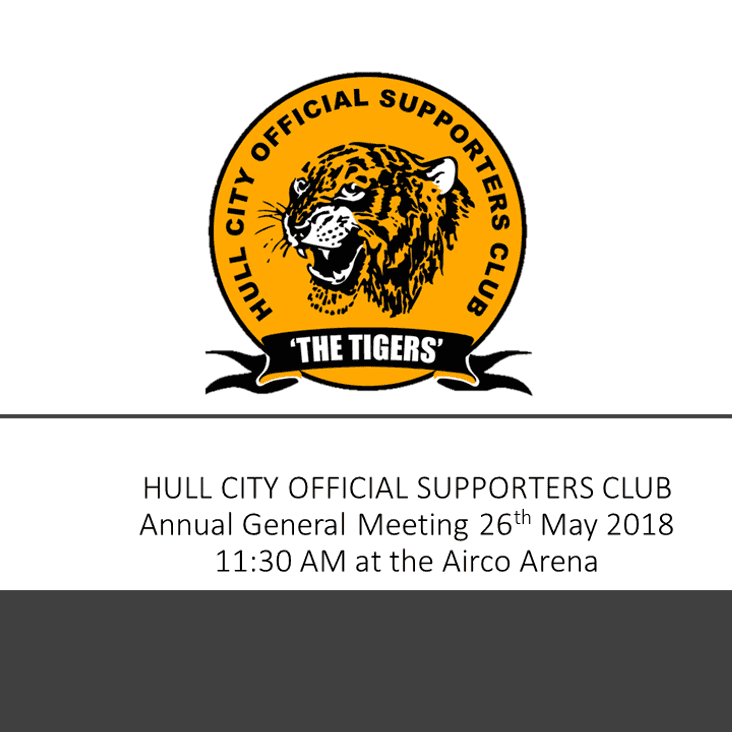Hull City Official Supporters Club AGM